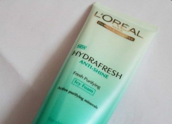 L'Oreal Hydrafresh Face Wash