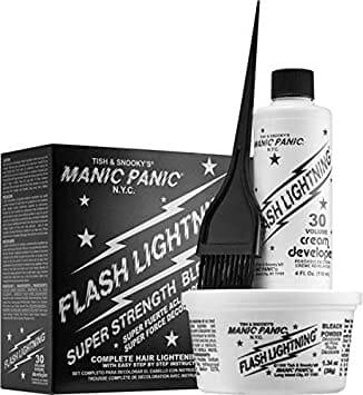 Manic Panic Flash Lightning Bleach Kit 30 Volume Cream Developer Best Hair Bleach in Pakistan