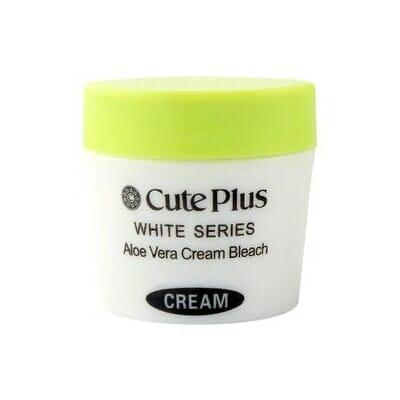 Cute Plus White Series Aloe Vera Cream Bleach 28 Grams Best Bleach Cream in Pakistan