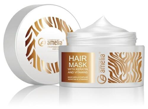 Amelia Hair Mask With Keratin Vitamins Best Keratin Hair Mask In Pakistan