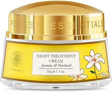 Forest Essentials Jasmine & Patchouli Night Treatment Cream - Best Whitening Night Cream in Pakistan