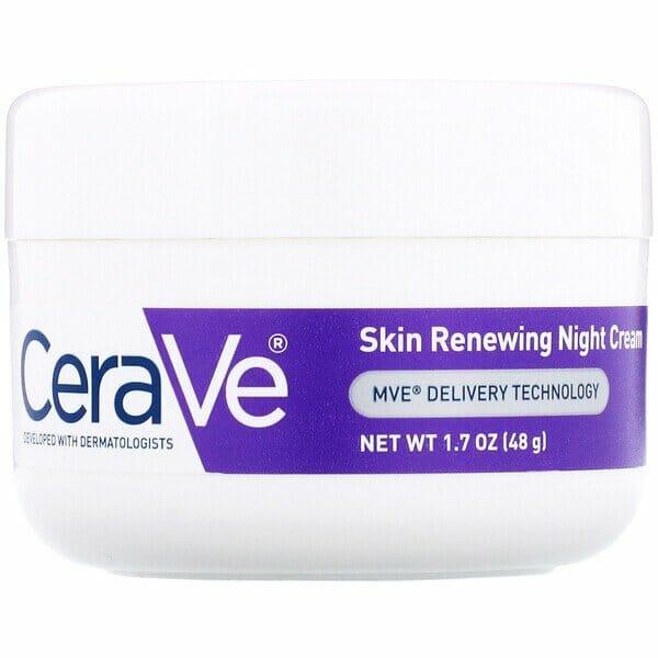 CeraVe Skin Renewing Night Cream - Best Whitening Night Cream in Pakistan