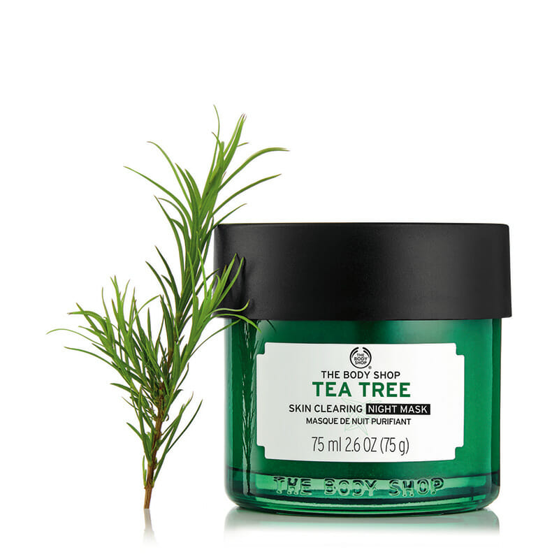 The Body Shop Tea Tree Anti-Imperfection Night Mask - Best Whitening Night Cream in Pakistan