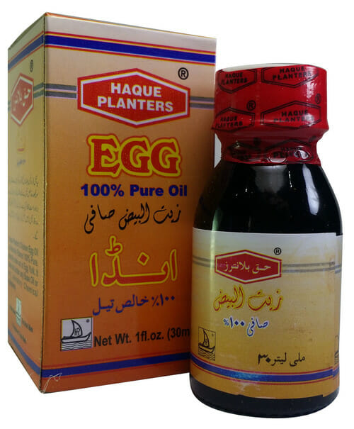 Haque Planters Egg Oil - Best Hair Oil in Pakistan