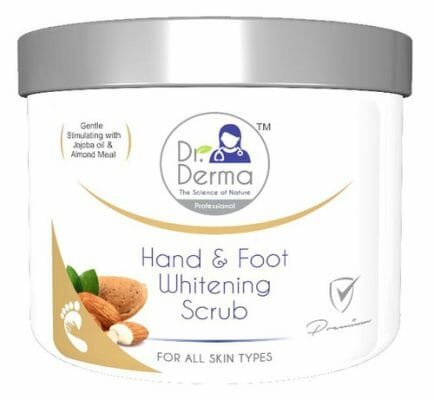 Dr. Derma Whitening Hand & Foot Scrub - best foot scrub in pakistan