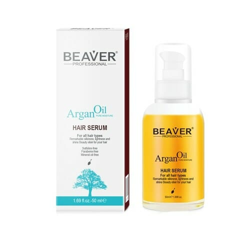 Beaver Argan Oil Hair Serum 50ml - Best Hair Growth Serum In Pakistan
