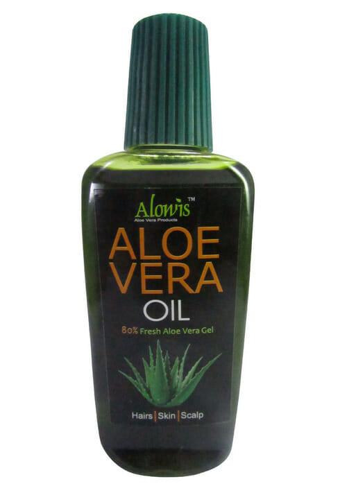 Alowis Organic Aloe Vera Oil - Best Hair Oil For Hair Loss In Pakistan
