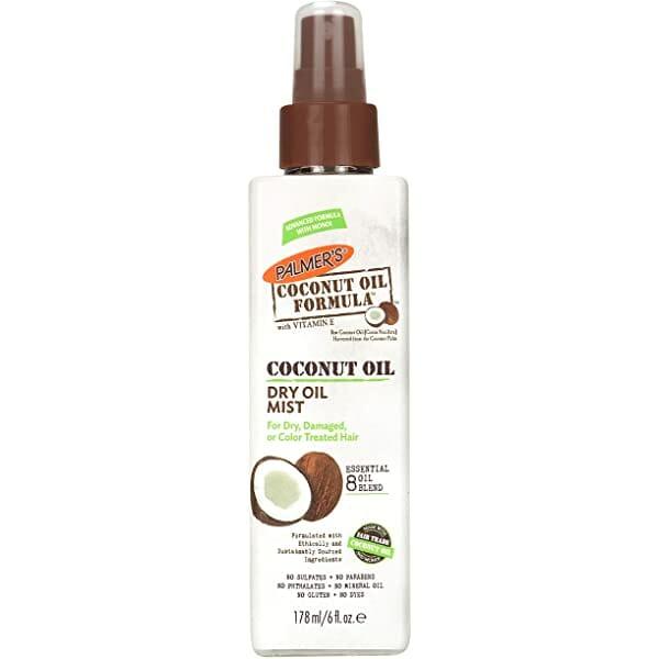Coconut Oil Formula Dry Oil Mist for Dry Hair 178ml - Best Hair Oil For Hair Loss In Pakistan