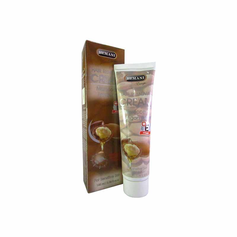 Hemani Argan Hair Removal Cream 100ML - Best Hair Removal Cream in Pakistan