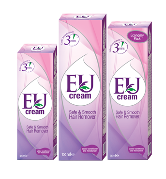 Eu Cream Safe & Smooth Hair Remover - Best Hair Removal Cream in Pakistan