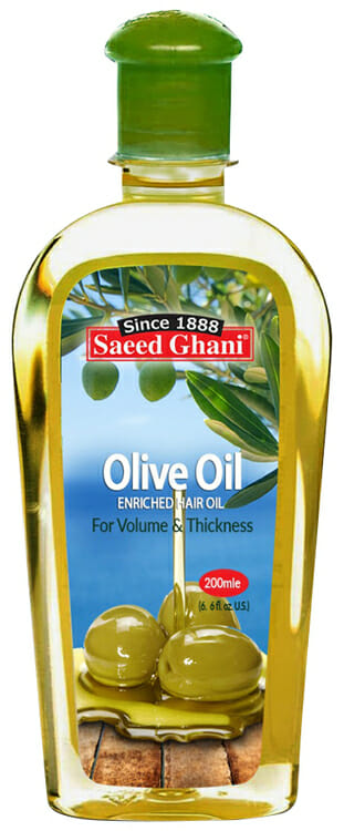 Saeed Ghani Olive Oil 200 ml - Best Oil For Growth In Pakistan