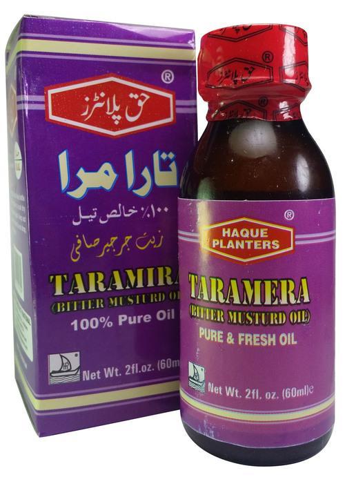 Haque Planters Taramira Oil (Bitter Mustard Oil) - Best Oil For Growth In Pakistan