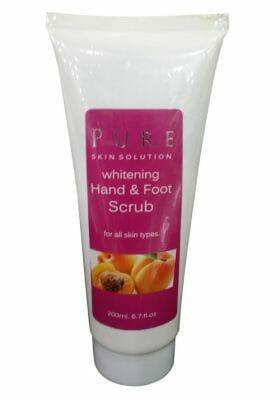 Pure Skin Solution Whitening Hand & Foot Scrub 200 ML - Best Foot Scrub in Pakistan