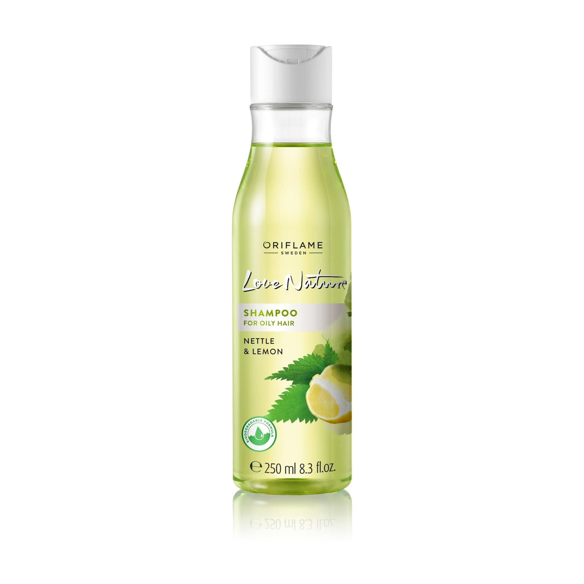 Oriflame Love Nature Shampoo For Oily Hair Nettle & Lemon 250ml - Best Shampoo For Oily Hair In Pakistan