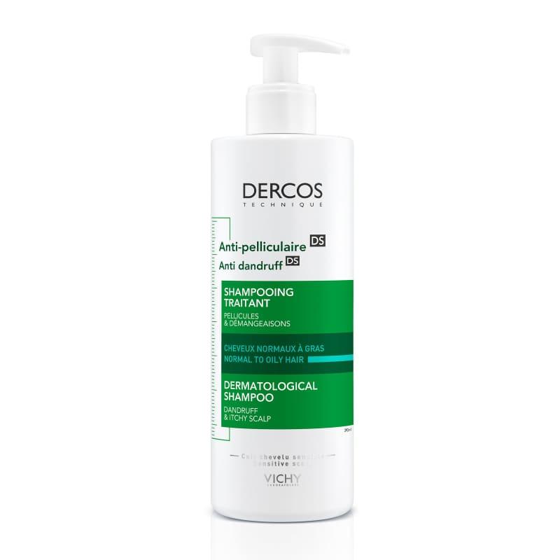 Vichy Dercos Anti-Dandruff Shampoo For Normal to Oily Hair 390ml - Best Shampoo For Oily Hair In Pakistan