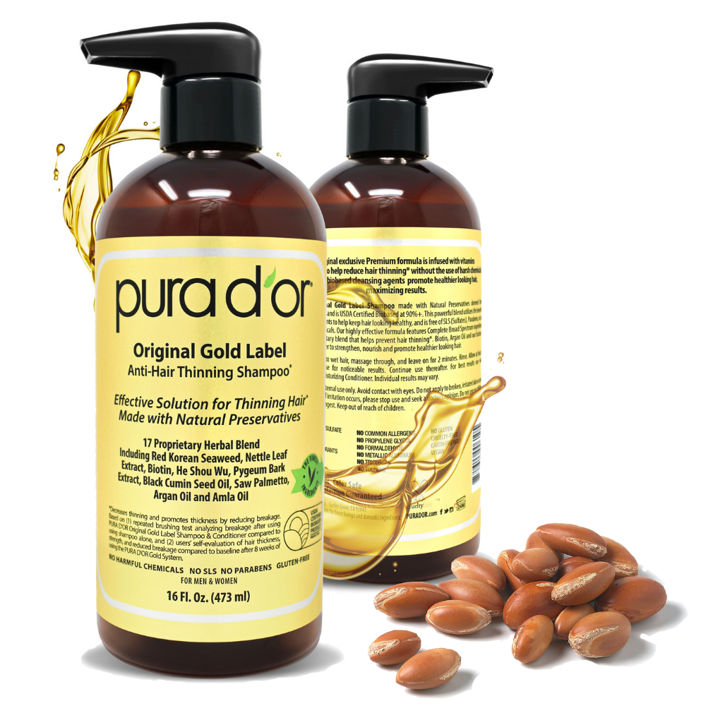 Original Gold Label Shampoo - best shampoo for thick hair in Pakistan