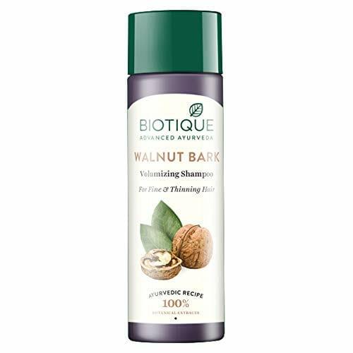 Biotique Bio Walnut Bark Body Building Shampoo - best shampoo for thin hair in pakistan