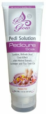 Go 4 Glow Pedi Solution Pedicure Foot Soak 200g - Best Foot Scrub in Pakistan