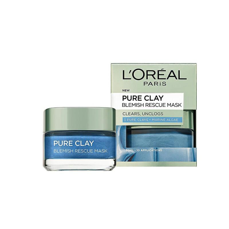 Loreal Pure Clay Marine Algae Mask- Anti Blemish