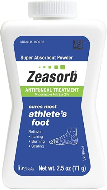 Zeasorb Athlete's Powder Foot Best Antifungal Cream in Pakistan