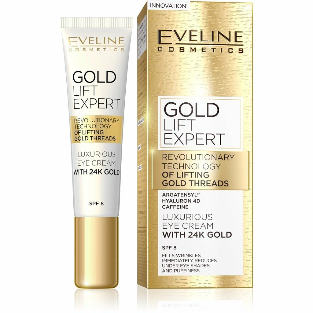 Gold Lift Expert Luxurious Eye Cream With 24K Gold