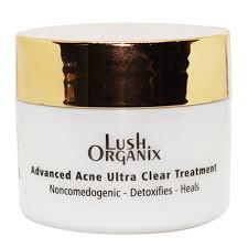 Lush Organix Advanced Acne Ultra Clear Treatment Best Medicated Acne Cream In Pakistan