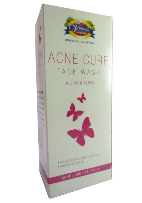 The Vitamin Company Acne Cure Face Wash Best Medicated Acne Cream In Pakistan
