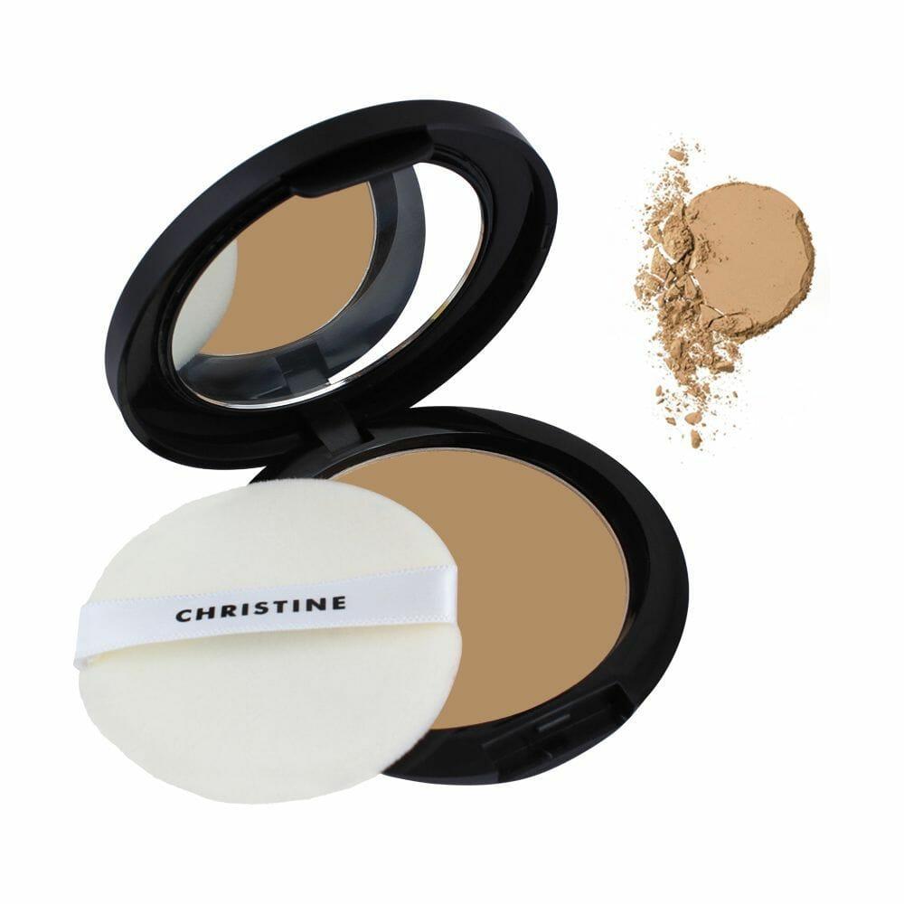 Christine Oil & Shine Control Compact Powder Peach 918 Best Face Powder In Pakistan