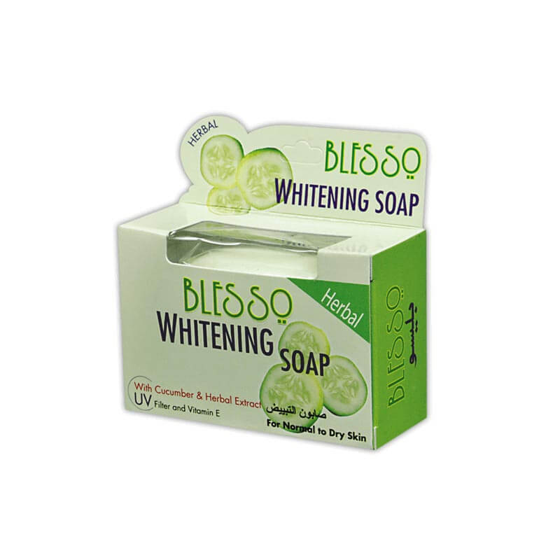 Blesso Whitening Soap With Cucumber And Herbal Extract Best Whitening Soap In Pakistan