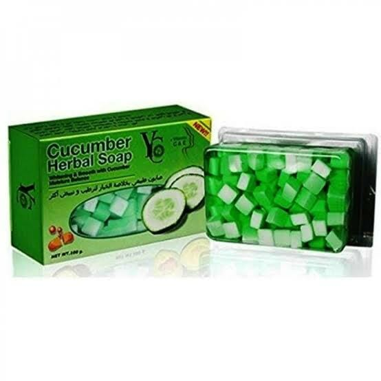 YC Cucumber Herbal Soap With Vitamin C&E Best Whitening Soap In Pakistan
