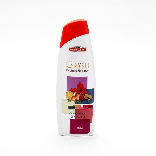 Saeed Ghani Gaysu Mughziat Shampoo Best Organic Shampoo in Pakistan