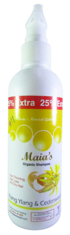 Maia's Organic Ylang Ylang & Cedarwood Dry Hair Shampoo Best Organic Shampoo in Pakistan