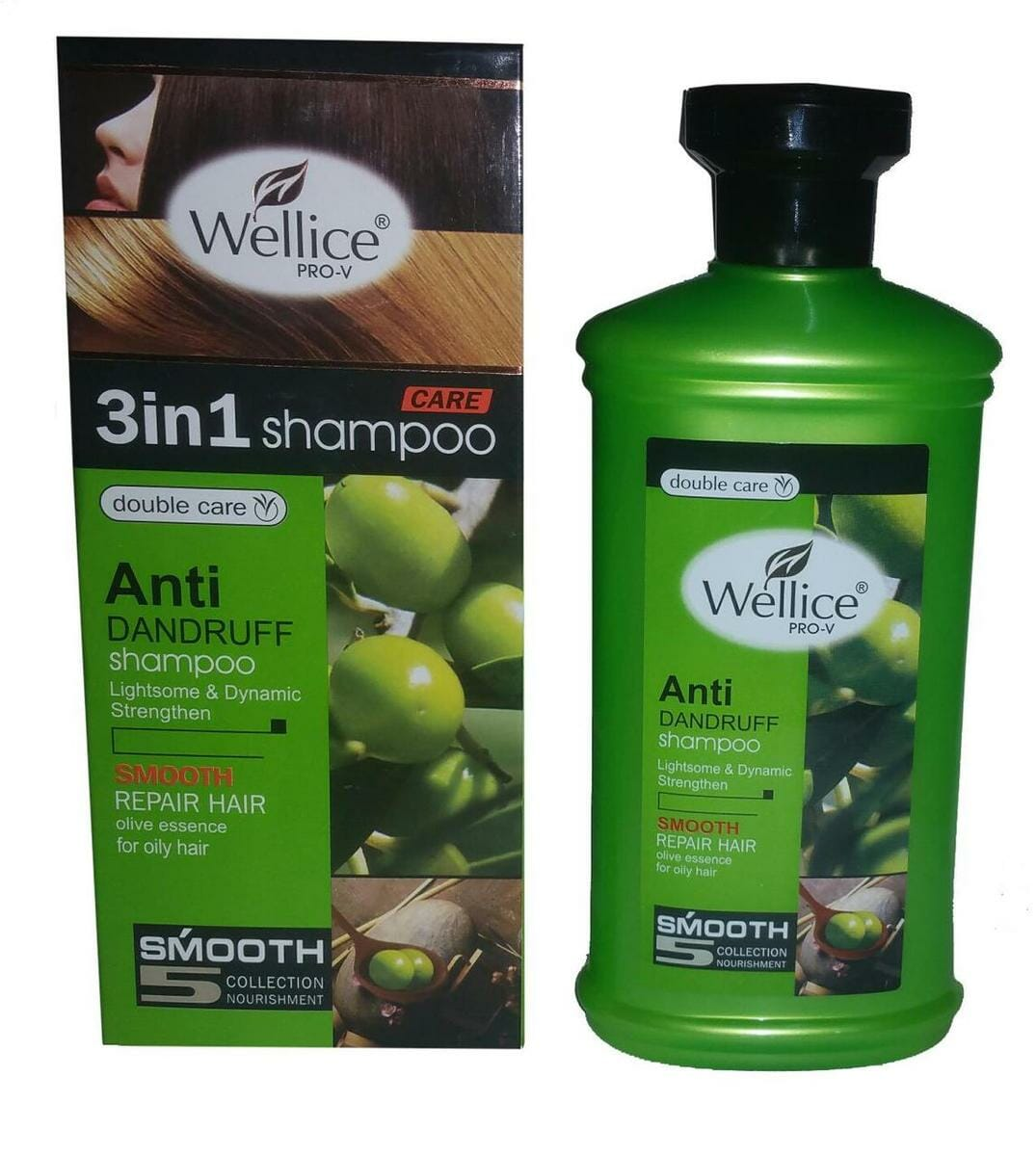 Wellice Olive Shampoo 3 in 1 Professional Flexible Healthy Care 400 gm Best Organic Shampoo in Pakistan