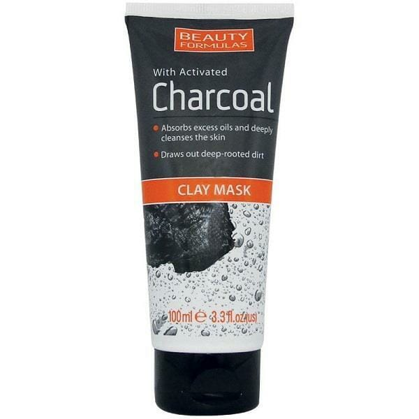 Beauty Formulas Charcoal Clay Mask 100ml Best Charcoal Face Mask in Pakistan