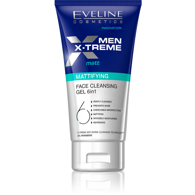 Eveline Men X-Treme Matt Mattifying Face Cleansing Gel 150 ml Best Whitening Face Wash For Men in Pakistan