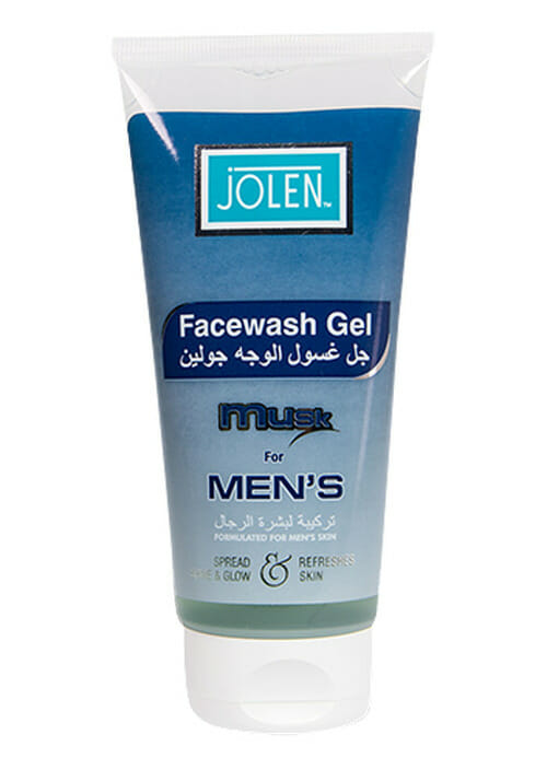 Jolen Face Wash Gel Musk For Men's Best Whitening Face Wash For Men in Pakistan