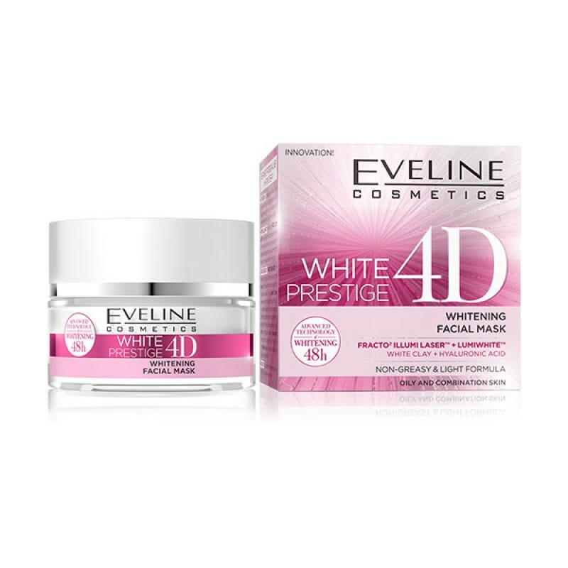 Eveline White Prestige 4D Facial Mask 50ml Best Face Mask in Pakistan