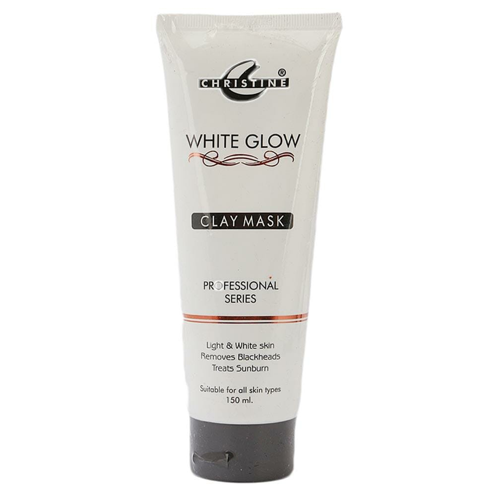 Christine White Glow Clay Mask 150ml Best Face Mask in Pakistan