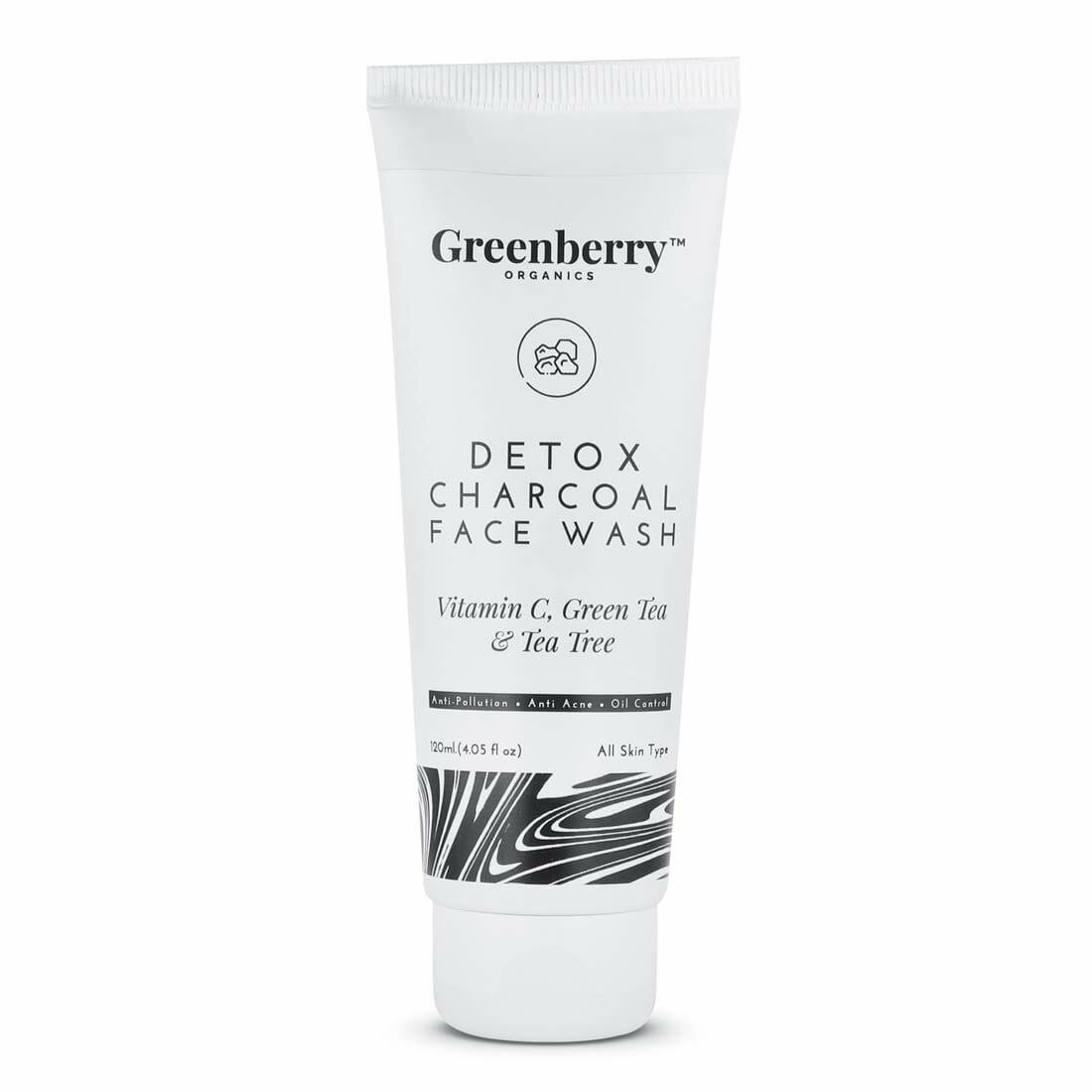 Greenberry Organics Detox Charcoal Face Wash Best Face Wash For Oily Skin In Pakistan