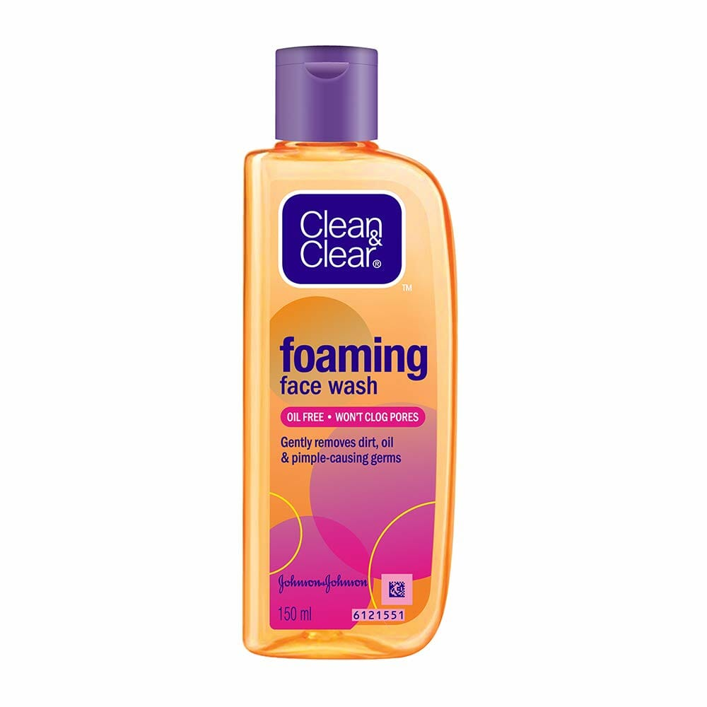 Clean & Clear Foaming Face Wash Best Face Wash For Oily Skin In Pakistan