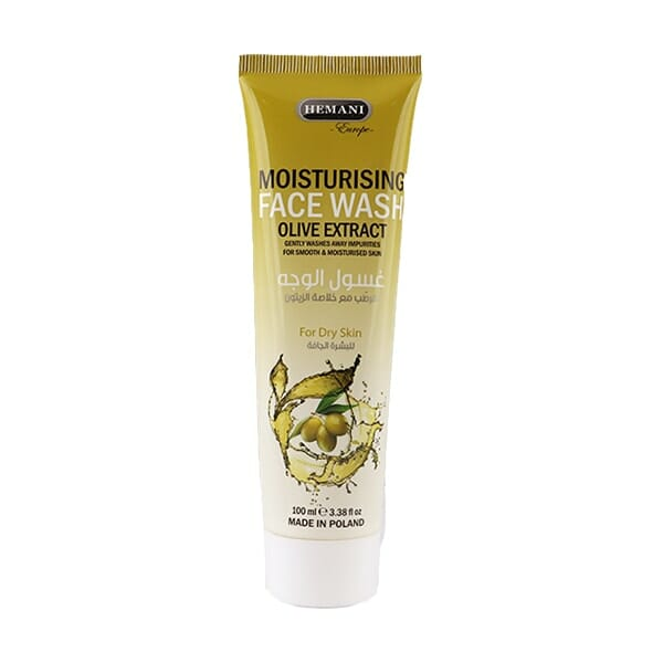 Hemani Moisturizing Face Wash With Olive Extracts 100ml Best Face Wash For Dry Skin in Pakistan