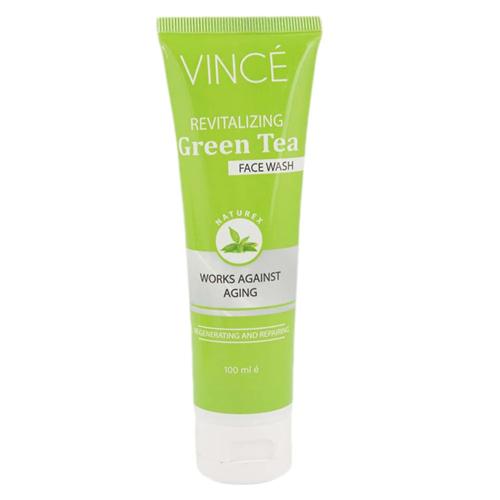 Vince Naturex Revitalizing Green Tea Face Wash 100 ml Best Face Wash For Dry Skin in Pakistan
