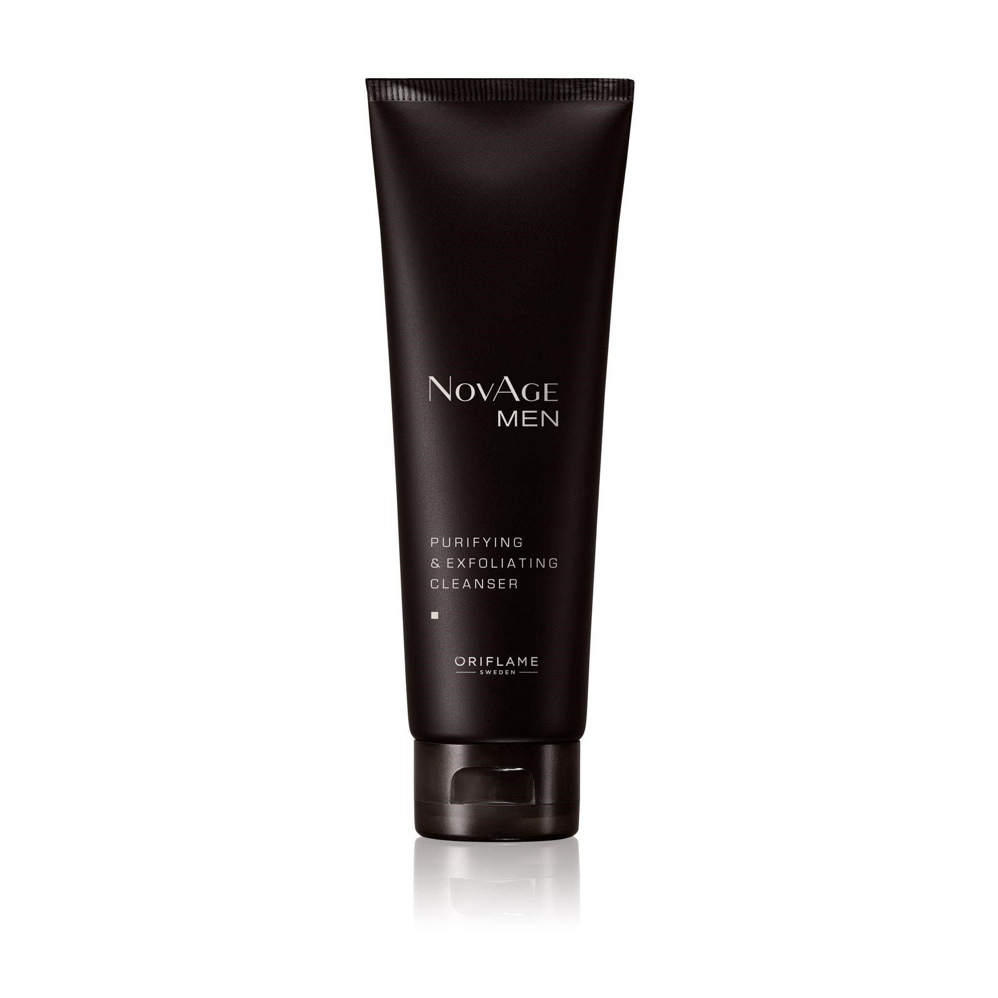 Oriflame Novage Men Purifying & Exfoliating Cleanser 125ml Best Face Wash For Men in Pakistan