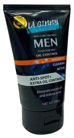 La' Ginny Men 10x Brightening Power Face Foam 100ml Best Face Wash For Men in Pakistan