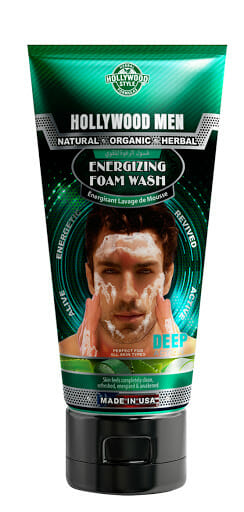 Hollywood Men Energizing Foam Wash 150ml Best Face Wash For Men in Pakistan
