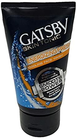 Gatsby Skin Tonic Energizing Fresh Cooling Face Wash 100g Best Face Wash For Men in Pakistan