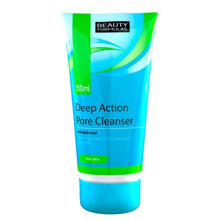 Beauty Formulas Deep Action Pore Cleanser 150ml Best Face Wash For Acne in Pakistan