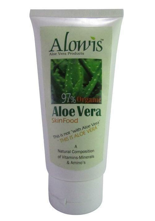 Alowis Organic Aloe Vera Skin Food Gel 100ml Best Face Wash For Acne in Pakistan