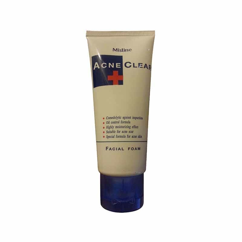 Mistine Acne Clear Facial Foam 85 Grams Best Face Wash For Acne in Pakistan