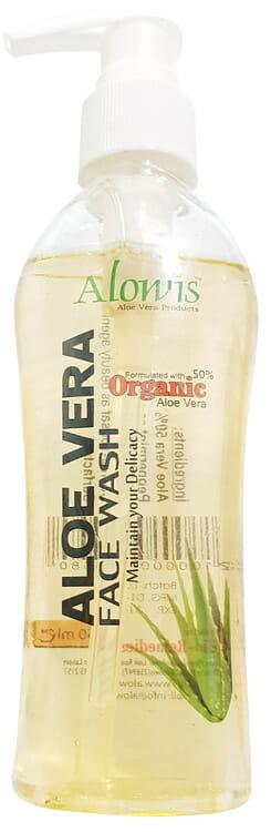 Alowis Organic Aloe Vera Face Wash 150ml Best Face Wash in Pakistan